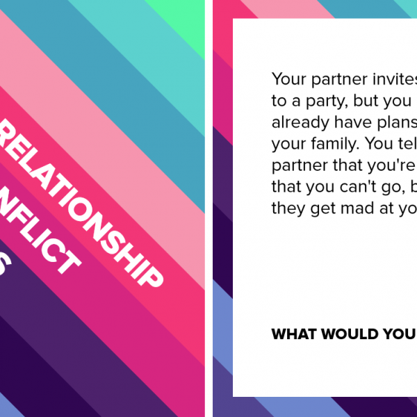 Relationship Conflict Cards